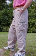 Bug Proof Zipper Fly Pants